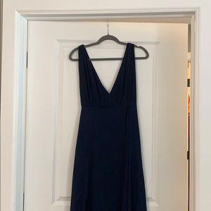 Navy Blue Formal Maxi Dress